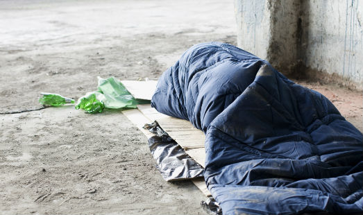 High incidence of traumatic brain injury in homeless population