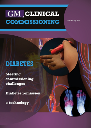 Front cover of GM Clinical Commissioning supplement on diabetes
