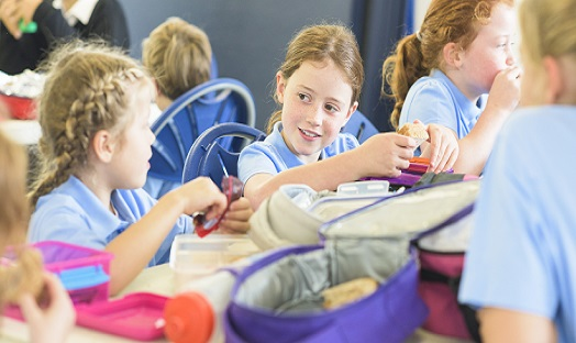 Saturated fat and added sugars still too high in children's packed lunches
