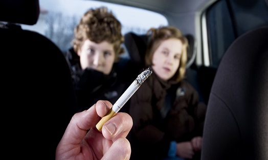 Smoking ban in vehicles has led to 72% reduction in teen smoke exposure