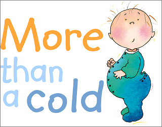 More than a cold - infographic