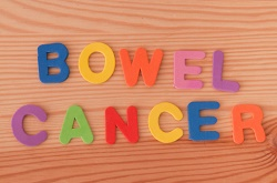 bowel cancer in writing